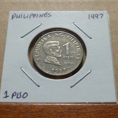 1 PISO COIN - 1997 - Philippines