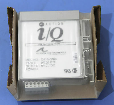 Action Instruments Q415 Multi-Channel RTD Input Three Wire Transmitter ActionI/Q