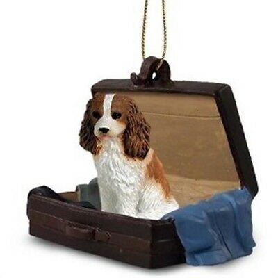 Victorian Trading Co Travel Companion King Charles Spaniel Christmas Ornaments