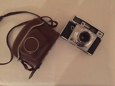 Vintage Agfa Super Silette Camera With Case