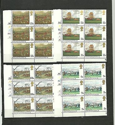 Great Britain 1979 Derby  CYL Block MNH