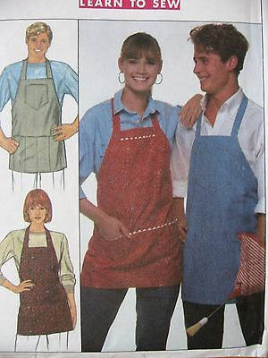 SEWING PATTERN SIMPLICITY 9245 Men Women Unisex Kitchen Apron ...