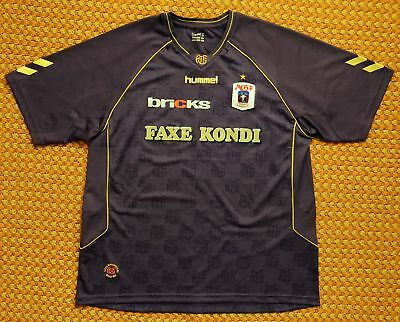 2008 AGF Aarhus, Third Football Shirt by Hummel, Mens 3XL, 2XL