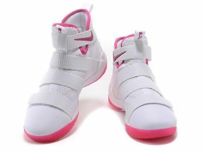 257aa9e1515 NIKE LEBRON SOLDIER 11 XI 897644-102 Multiple Sizes Breast Cancer Kay Yow