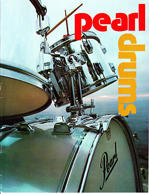 1975 Pearl Drum Catalog and Price List