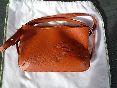 Longchamp Brique Porté Sac Main Travers Marron Shop Cuir À It wzqqCEY
