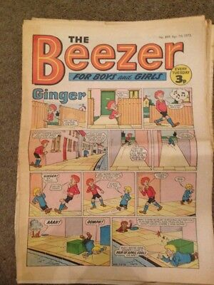 The Beezer Comic April1973