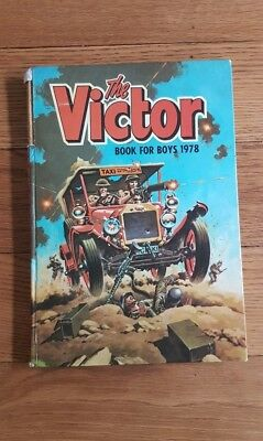 The Victor book for boys 1978