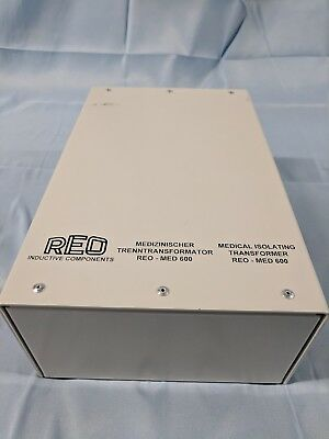 REO Inductive Components Medical Isolating Transformer REO-MED 600