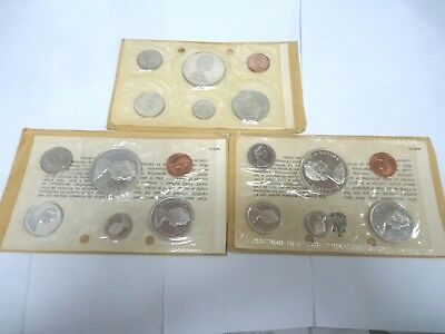 1965,66,67 Canadian Proof Sets