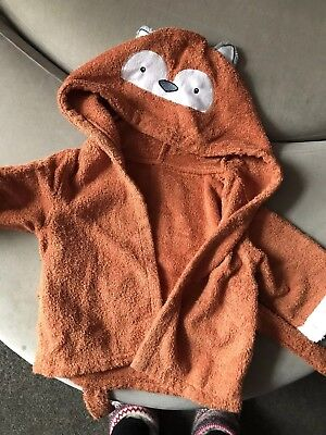 6-12 Month Fox Dressing Gown