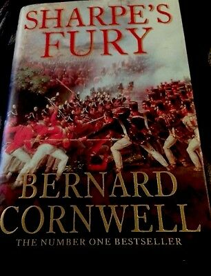 Sharpe's Fury by Cornwell, Bernard Hardback Book