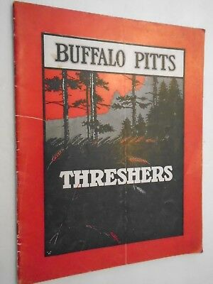 Vintage 1910's Buffalo Pitts Threshers IHC Original Complete 36 Pages