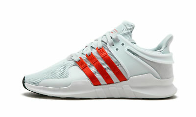 official photos 52c40 efe13 New Men s Adidas Equipment EQT Support ADV White Orange Running Shoes Size  10