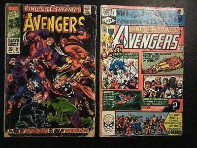 Avengers King Size Annual #2/#10 1st Appearance of Rogue