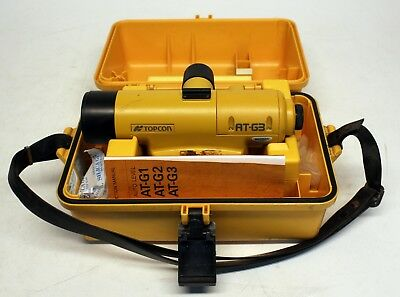 Topcon AT-G3 Automatic Level AX0669, USED, FAST FREE SHIP