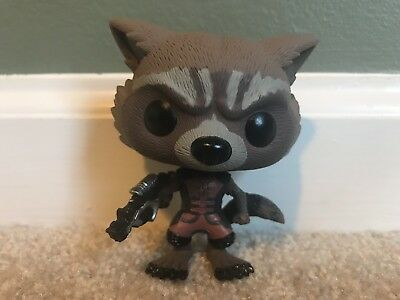 Funko Pop Rocket Raccoon PX Previews Exclusive Figure Guardians of the Galaxy 48