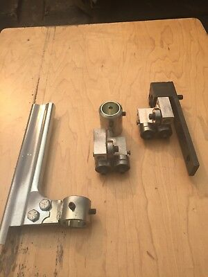 """Delta Rockwell 14"""" band saw Carter bearing guides 15/16"""" post Milwaukee Bandsaw"""