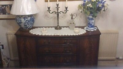 Bevan and Funnell Sideboard four central drawers and two side cupbords