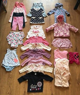 baby girl 25+ piece bundle job lot 3-6 months NEXT DISNEY