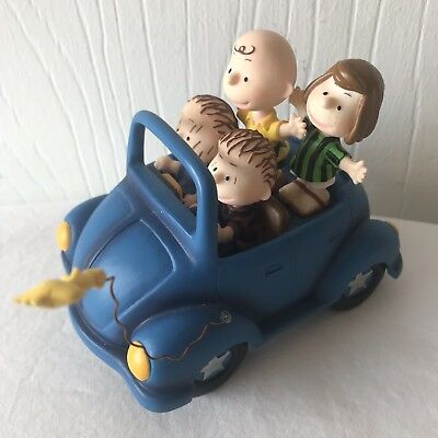 Westland Giftware Peanuts Snoopy & Gang On the Road Again Car ***See Pictures!