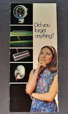 1973 Dodge Chrysler Plymouth Accessories Brochure Charger Dart Duster Satellite