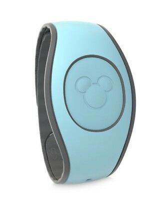 2018 Disney Parks Aqua Blue Magic Band 2 2.0 Link It Later MAGICBAND Linkable