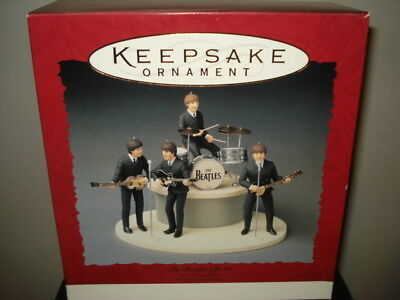 1994 Hallmark Keepsake THE BEATLES Ornament Gift Set, New in Box w/ Shipper