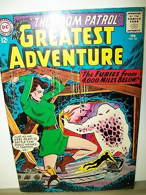 My Greatest Adventure # 85   Old Silver Age Comic   12 Cent Early Doom Patrol