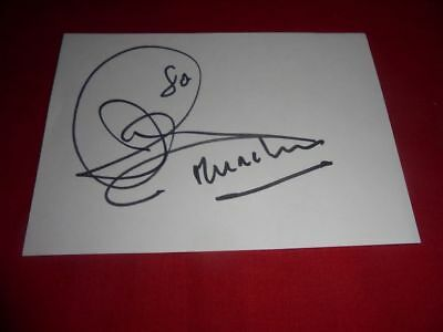 Jon Anderson - YES - signed - Autograph - In Person 1980 - signiert - dedicace