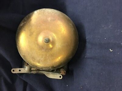 Vintage Cast Iron/Brass Shool/Boxing Bell Mechanical
