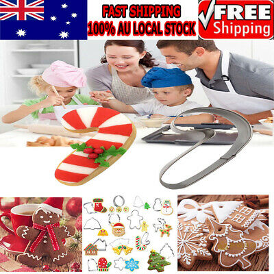 14pcs Christmas Cookie Cutters Solid Shaping Cutters Cake Cutters for Chocolate