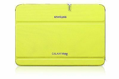 GT-N8013 Samsung Galaxy Note 10.1 Case Cover Stand Leather Genuine Folio Green