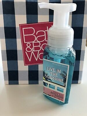 Bath and Body Works Foaming Hand Soap Seife - Live in the Sunshine - NEU
