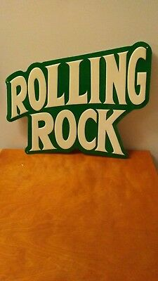 Vintage Rolling Rock Tin Sign