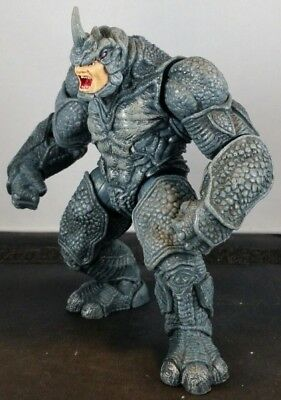 """Power Charge RHINO Marvel Universe 2009 Spiderman Action Figure 3.75"""" Scale"""