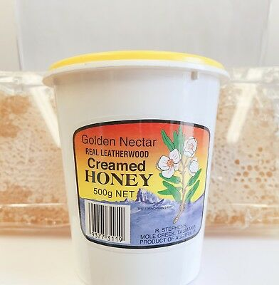 Leatherwood Creamed Honey