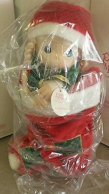 NEW Limited Edition Precious Moments CHRISTMAS EVE  Doll new in box 15""