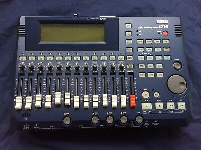 Korg D16 Digital Recording Studio