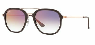 Authentic Ray Ban RB4273 6335S5 Brown Sunglasses Violet Gradient Lens 52MM 6408397c6a23