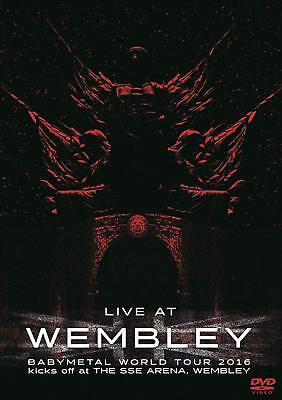 BABYMETAL LIVE AT WEMBLEY WORLD TOUR 2016 New DVD w/Tracking No. From Japan