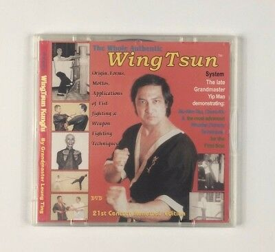 The Whole Authentic WingTsun Kung Fu, DVD, Leung Ting, WT, Wing Tsun
