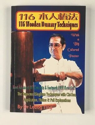 116 Wooden Dummy Techniques, Leung Ting Kung Fu, WT, Wing Tsun