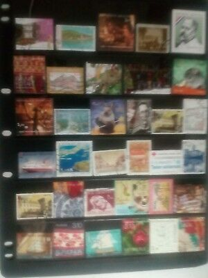 1 page  beautiful stamps from Croatia, fine used.