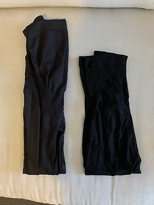 Seraphine Maternity Black Tights Leggings Size S - M