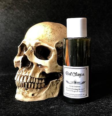 """ESOTERIC OIL FOR RITUAL """"BLACK SALT """" 50ml RITUAL WITCHES  Spell Wicca"""