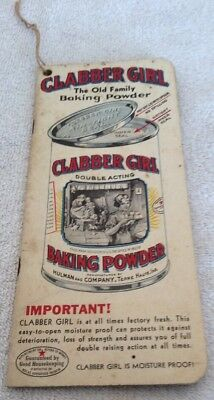 Vintage Clabber Girl Baking Powder Booklet - This Is Your Want Book - 1920's