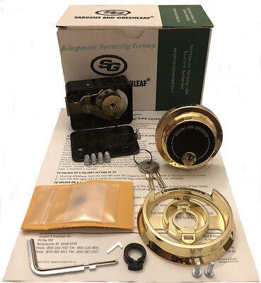S&G - Sargent & Greenleaf 6730-112G Group 2 - Spy Proof KLD & Lock Kit -W/2 Keys