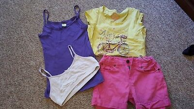 Girls size 8 bundle of mixed summer clothes