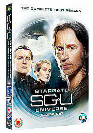 Stargate Universe Complete 1st Season Dvd Robert Carlyle New & Factory Sealed